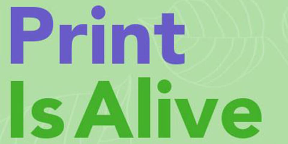 infographic on print marketing