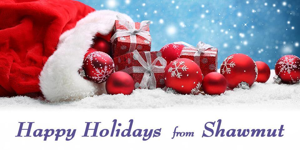happy holidays from shawmut