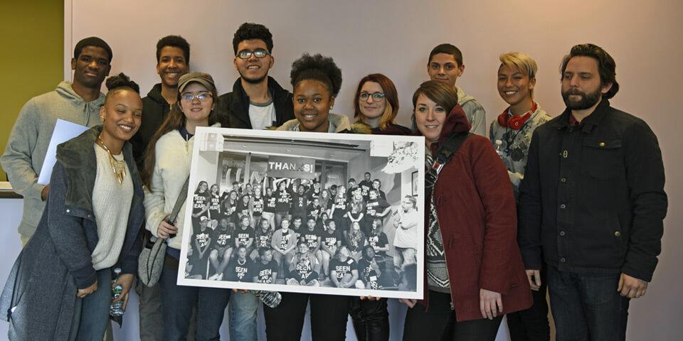 raw students visit shawmut