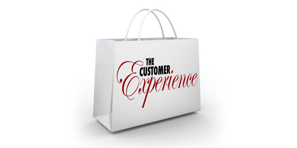 customer experience shopping bag
