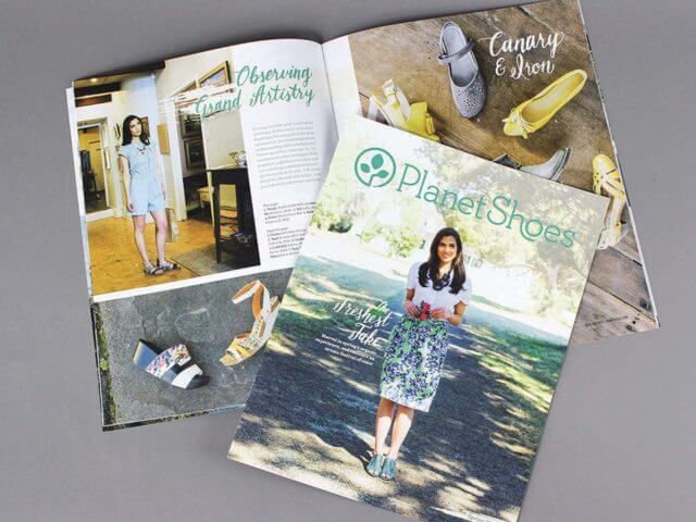planet shoes magalog