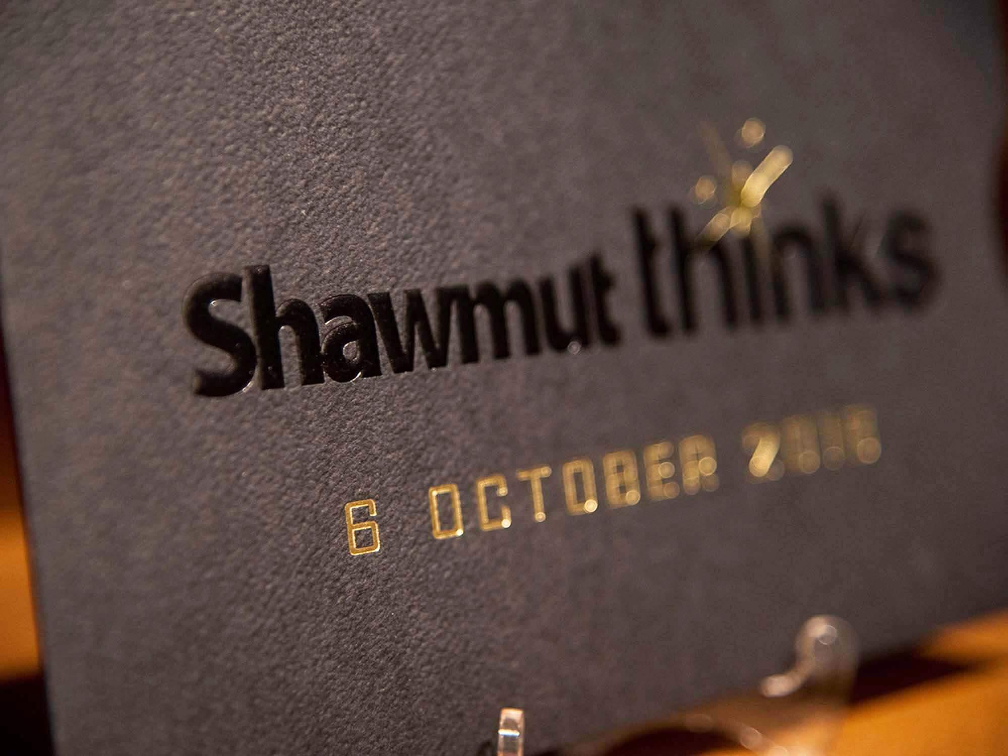 shawmut thinks event invitation