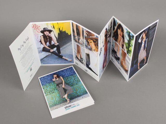 shoeline mini catalog mailer