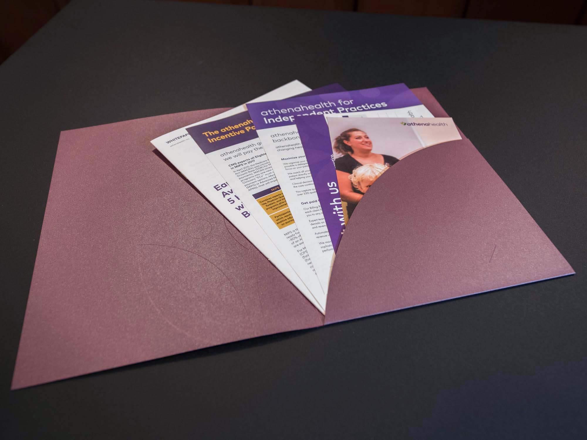athenahealth pocket folder