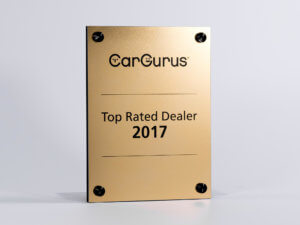 CarGurus Award Plaque
