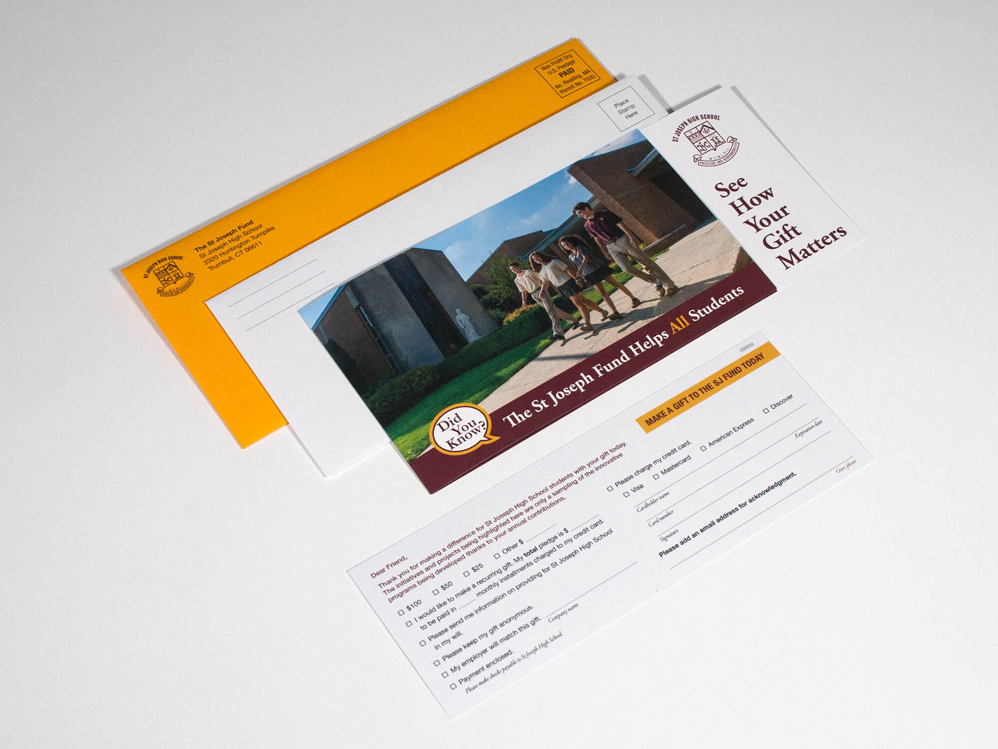 St Joseph High School Fundraising Package
