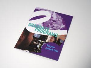 Emerson College Graduate Programs Trifold Pocket Folder