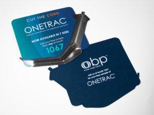 OBP ONETRAC Die-Cut Handout
