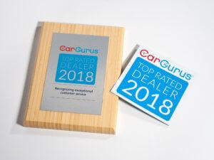 CarGurus Top Rated Dealer Award Kit 2018