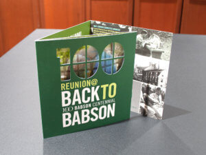 Back to Babson Reunion Invitation
