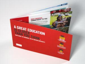Boston University Financial Aid Booklet