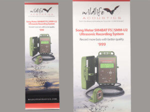 Wildlife Acoustics Trade Show Banner