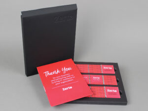 Zerto Client Welcome Chocolate Box