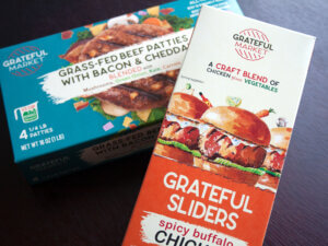 Grateful Market Frozen Food Boxes