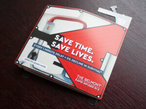 Belmont Medical Technologies Die-Cut Mailer