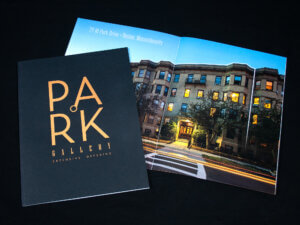 Park Gallery Brochure and Booklet