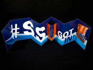 """Salem State University """"SSU Got In"""" Accordion Mailer"""